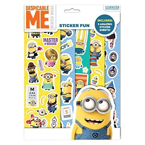 Despicable Me Minions Party Sticker Fun Pack