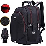 Freebiz 60L 18.4''Sac à Dos Ordinateur Portable PC Couvercle Imperméable Backpack Laptop avec Pris USB Anti-choc Gaming Laptops...
