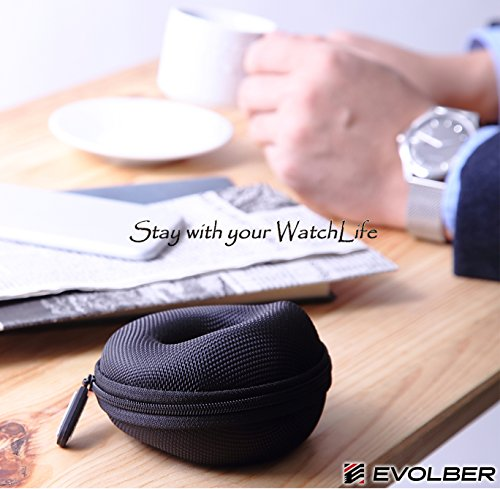 『EVOLBER 腕時計携帯ケース 1本用』の4枚目の画像