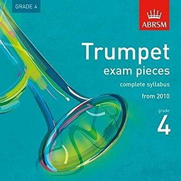 Trumpet Exam Pieces from 2010, ABRSM Grade 4
