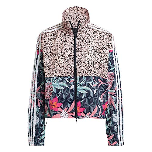 adidas GN3601 Track Top Pullover Donna Multicolor 42