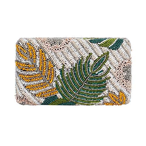 Parfois - Clutch - Bolso Caja Forest - Mujeres - Tallas M - Verde