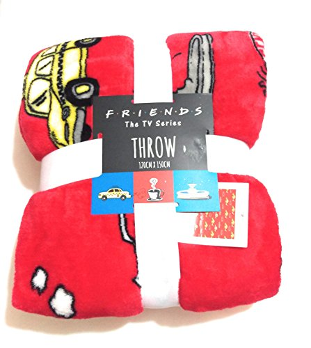 Primark Licensed FRIENDS The TV Series Super Soft Throw Blanket 120cm x 150cm