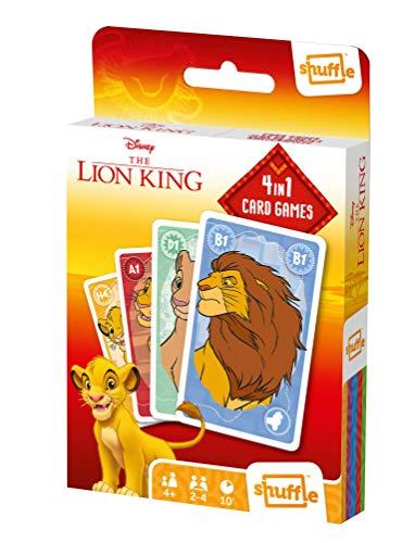 Shuffle Disney The Lion King - El Rey León 4 Juegos en 1 Multilingüal