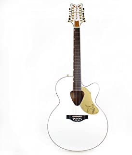 Gretsch G5022CWFE-12 Rancher Falcon White 12-String Acoustic-Electric Guitar