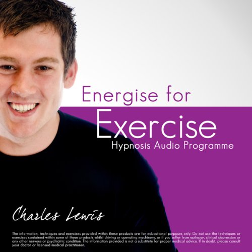 Energise for Exercise audiobook cover art