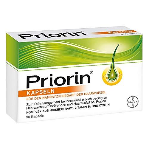 Priorin Kapseln bei hormonell erblich bedingtem Haarausfall(1) bei Frauen, 30 Kapseln