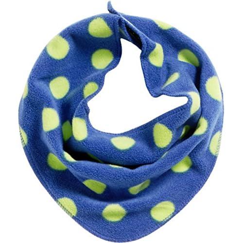 Playshoes Fleece-Dreieckstuch Punkte Bandana, Blu (Marine 11), Taglia unica Unisex-Bambini
