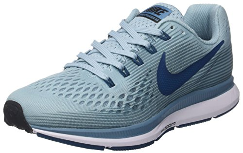Nike WMNS Air Zoom Pegasus 34, Chaussures de Running Compétition Femme, Multicolore (Ocean Bliss/Blue for 408), 35.5 EU