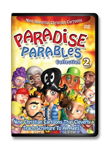 Paradise Parables-2 Scripture-Cartoon-DVDs for Kids, Cartoons for Kids-Comedy-Adventure Time-Bible Based Teaching-Cartoon Characters-Animals-Animation-Christian Music for Kids