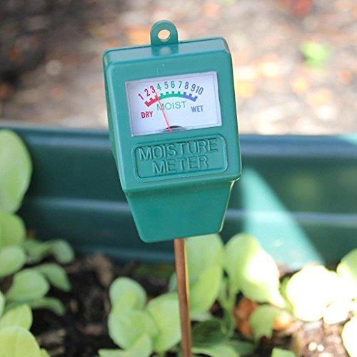 Jiamins Tester Feuchtigkeit des Bodens, Garten Hygrometer, Soil Moisture Meter, Ideal für Den Garten, Bauernhof, Rasen, Innen und Außen (Ohne Akku notwendig)