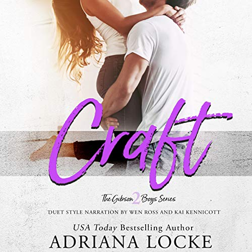 Craft audiobook cover art