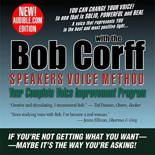 Bob Corff Speakers Voice Method Audiobook By Bob Corff cover art