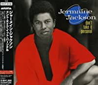 Dont Take It Personal by Jermaine Jackson (2009-11-11)