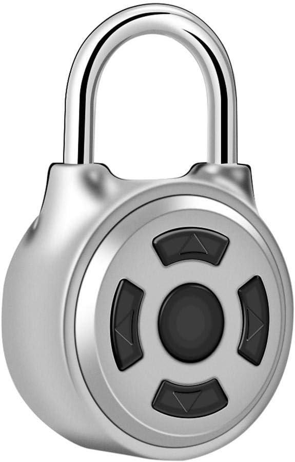 Max 81% OFF WXQ-XQ Fingerprint Padlock Philadelphia Mall Smart Touch Lock Universal Wirel Mini