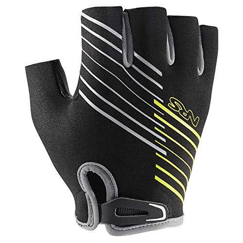 NRS Half-Finger Guide Gloves (Black, X-Large)