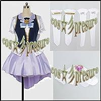 2693 【cos-presure】ハピネスチャージプリキュア! キュアフォーチュン 風☆彡コスプレ衣装