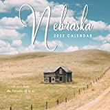 Nebraska Calendar 2022: Gifts for Friends and Family with 12-month Monthly Calendar in 8.5x8.5 inch