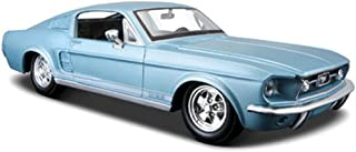 Maisto 1967 Ford Mustang GT-500, Blue 31260 - 1/24 Scale Diecast Model Toy Car