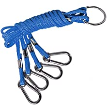 SF 4 Arm Crab Trap Harness Stainless Heavy Duty Metal Hooks for Sailing Fishing # Blue 1 Pieces