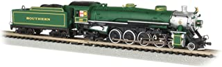 4-8-2 Light Mountain Dcc Sound Value Equiped Steam Locomotive Southern #1489 (Green) - N Scale
