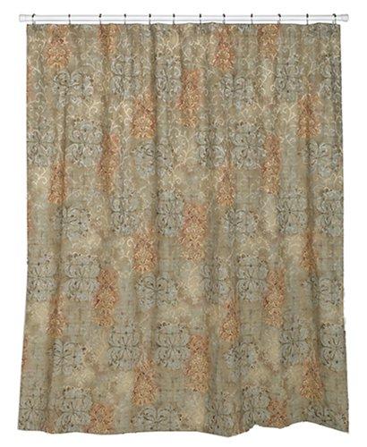 Croscill Cassarina 75-by-70-Inch Shower Curtain
