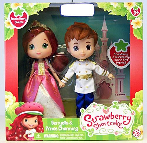 Emily Erdbeer Strawberry Shortcake Berryella & Prince Charming 2-Pack - Puppen ca. 15cm