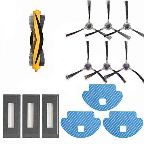YTT 13-Pack Wisch Tuch Haupt bürste Bürste Seiten HEPA Filter für Ecovacs Deebot ozmo 930 Staubsauger Roboter-Teile