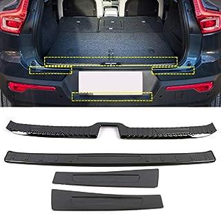 adesivo di protezione per paraurti posteriore in acciaio inossidabile Per XC70 BETWEEN 2013-2018 striscia di protezione antigraffio rivestimento della piastra di protezione posteriore delbagagliaio
