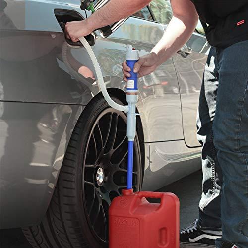 BBINHAN Bomba de sifón portátil Bomba Recargable eléctrica de Transferencia de líquido, para Diesel, Combustible, Aceite, Agua y más, Bomba de Suministro de líquido