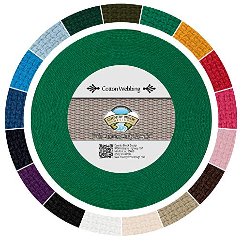 Country Brook Design - Kelly Green Heavy Cotton...