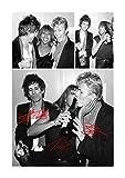 Engravia Digital Keith Richards, Tina Turner und David