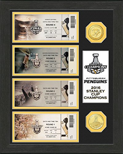 Evgeni  Malkin 09 Stanley Cup 24KT Gold Coin Photo Mint