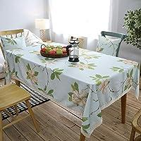 テーブルクロス コーヒーテーブル小さな丸いテーブルテーブルクロス帳テーブルクロス長方形リビングルーム防水テーブルクロススクエアテーブルクロス (Color : A, Size : 140*140CM)