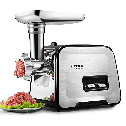 Electric Meat Grinder, ALTRA 3-IN-1 Meat Mincer& Food Grinder& Sausage Stuffer with 3Lb High...