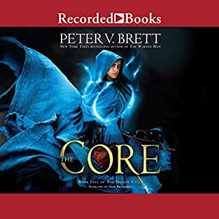 The Core     Demon Cycle, Book 5              By:                                                                                                                                 Peter V. Brett                               Narrated by:                                                                                                                                 Pete Bradbury                      Length: 29 hrs and 22 mins     3,740 ratings     Overall 4.6
