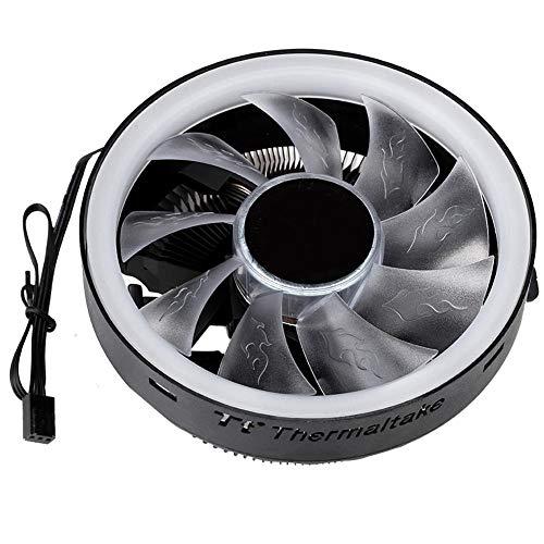 Hoog rendement warmteafvoer CPU-radiator, 95W hoge dichtheid aluminium vin computer stille koelventilator, 120 mm universele hydraulische lagerventilator
