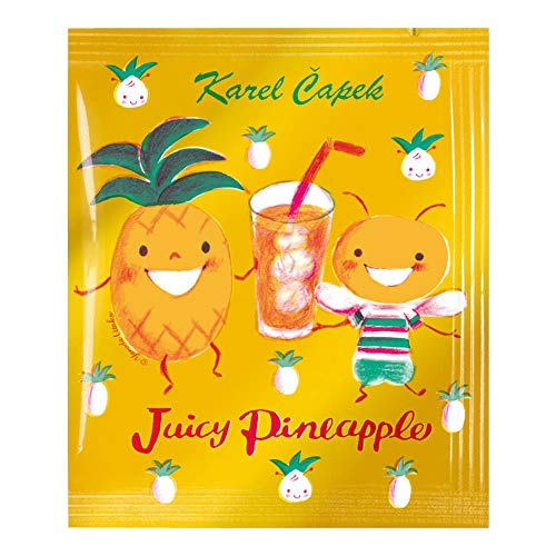 カレルチャペック ティーバッグ ジューシーパイナップル 個包装 1.5g×5P Karel Capek 紅茶
