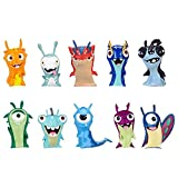 SLUGTERRA, Exclusive Mini Slug 10 Pack (Includes 3 Guardian Slugs: Bludgeon, Stinky, & Joules)