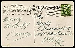 Enrico Caruso - Picture Post Card Signed 12/03/1914