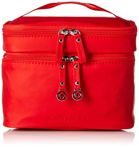 Samsonite Move Cosmetic Cases Toilet Kit M Beauty Case, Poppy Red, 22 cm