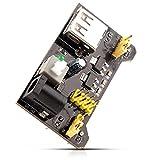 Neuftech Módulo de alimentación Power Breadboard Compatible 5V 3,3V para MB102...