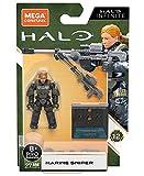 Mega Construx Halo Infinite Marine Sniper Minifigure