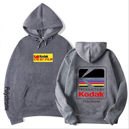 VANTEN Hip Hop Winter Wolle Herren Hoodie Harajuku Kodak Jacke Herren Damen Sweatshirt Hoodies