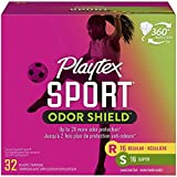 Playtex Plastic Tampons Sport Fresh Balance Multi-Pack Regular/Super Lightly Scented - 16 Count (Pack of 2)
