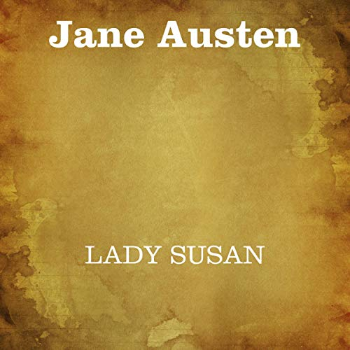 Lady Susan audiobook cover art