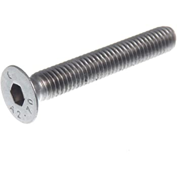 50 Pièce Miniature Tôle vis DIN 7982 Senkkopf acier inoxydable a2 1,7x16