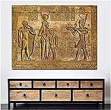 HHCZQY Leinwand Wandbilder Poster Ägyptische Hieroglyphen
