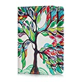 UUcovers Passport Holder Cover Case PU Leather RFID Blocking Card Wallet For Women Men, Lucky Tree