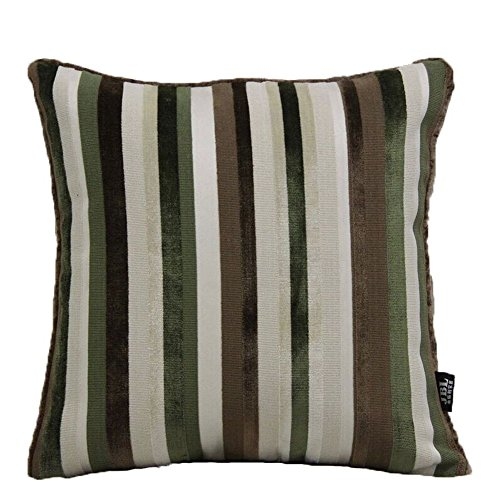 Le coussin High-End moderne Fringe Cut Velvet Sofa et Pillow - Vert